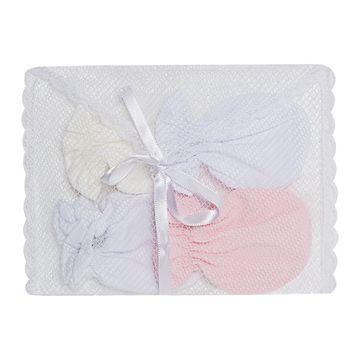 LUM00002394_E-moda-bebe-menina-acessorios-kit-4-luvas-malha-rosa-branca-marfim-roana-no-bebefacil-loja-de-roupas-enxoval-e-acessorios-para-bebes