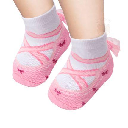 PK6935-SR--010101489108-A-moda-bebe-menina-meia-soquete-sapatilha-ballet-rosa-puket-no-bebefacil-loja-de-roupas-enxoval-e-acessorios-para-bebes
