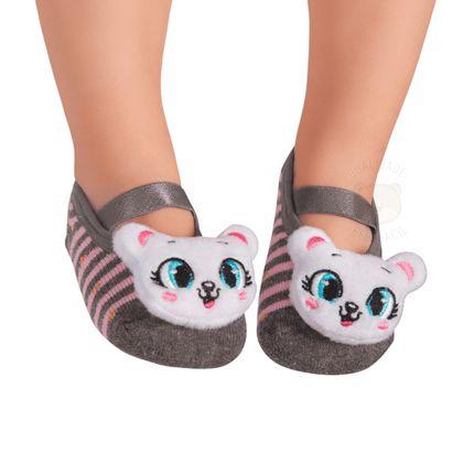 PK70339-GA--010202684200-A-moda-menina-meia-sapatilha-aplique-led-gatinha-puket-no-bebefacil-loja-de-roupas-enxoval-e-acessorios-para-bebes