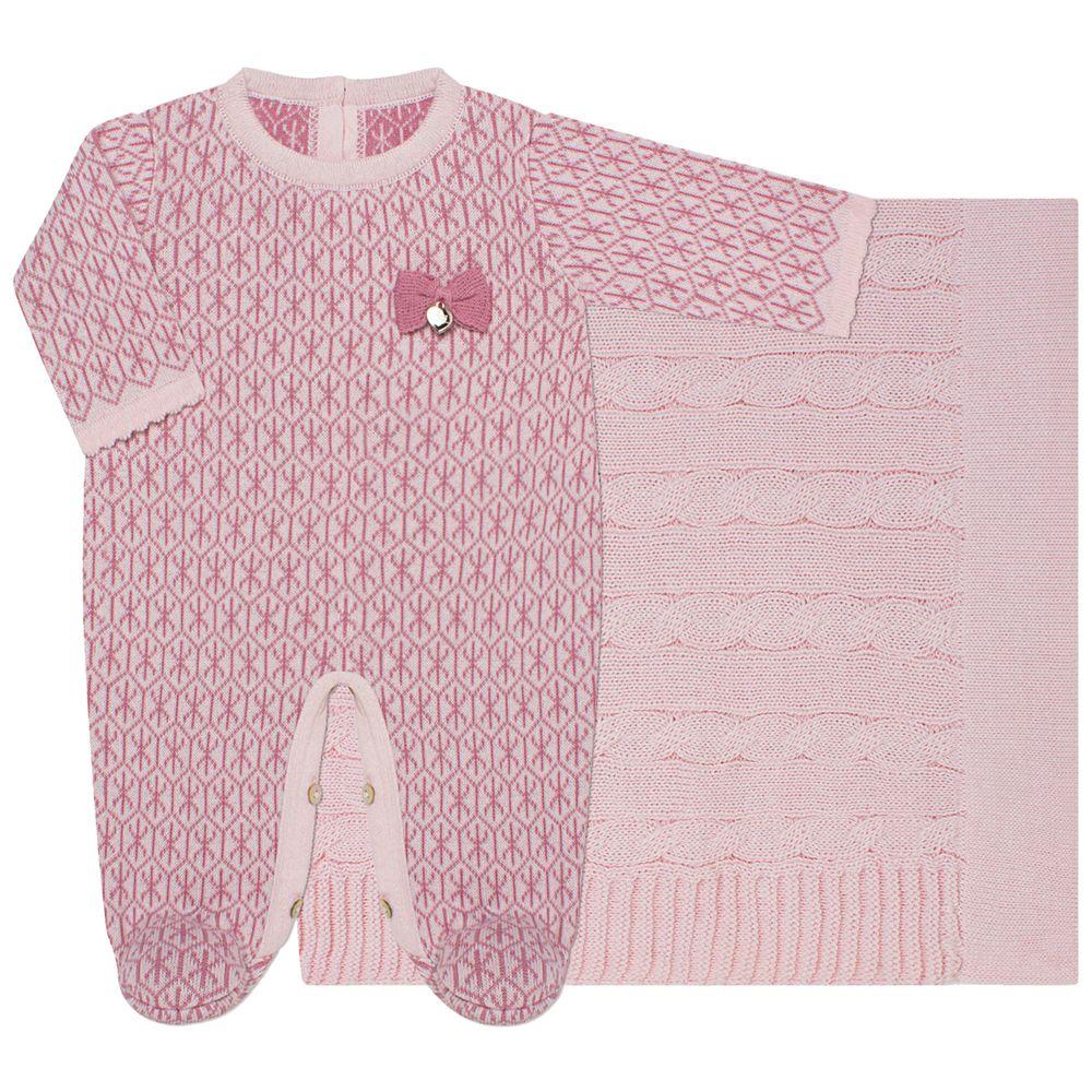 LBY5281-R_A-moda-bebe-menina-saida-maternidade-macacao-longo-manta-tricot-rosa-petit-by-lababy-no-bebefacil-loja-de-roupas-enxoval-e-acessorios-para-bebes