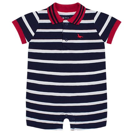 LBY5026_A-moda-bebe-menino-macacao-polo-piquet-mariner-mini-sailor-by-la-baby-no-bebefacil-loja-de-roupas-enxoval-e-acessorios-para-bebes