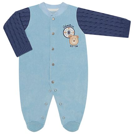 LBY5020-RN_A-moda-bebe-menino-macacao-longo-plush-tricot-adventure-petit-no-bebefacil-loaj-de-roupas-enxoval-e-acessorios-para-bebes