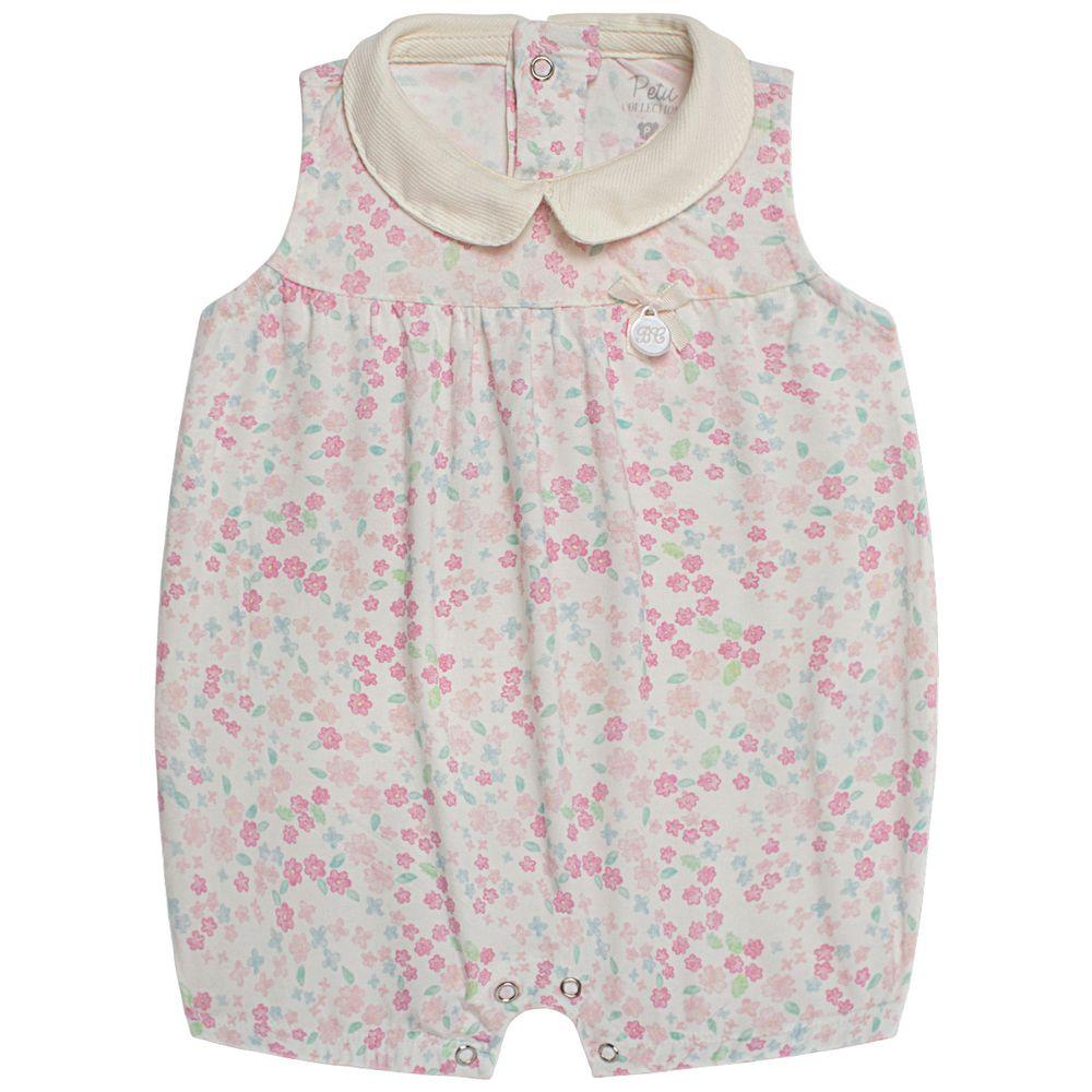 LBY4895_A-moda-bebe-menina-macacao-regata-golinha-viscolycra-florzinhas-petit-by-la-baby-no-bebefacil-loja-de-roupas-enxoval-e-acessorios-para-bebes