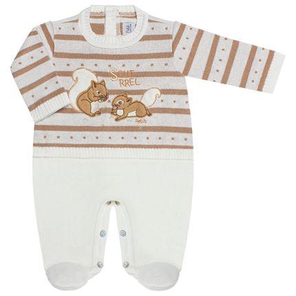 LBY5023-BG_A-moda-bebe-menino-menina-macacao-longo-tricot-esquilinhos-petit-by-la-baby-no-bebefacil-loja-de-roupas-enxoval-e-acessorios-para-bebes