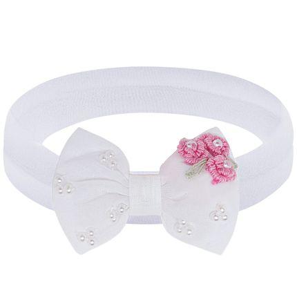 00548015307_A-moda-bebe-menina-acessorios--faixa-meia-recem-nascido-laco-florzinhas-rosa-roana-no-bebefacil-loaj-de-roupas-enxoval-e-acessorios-para-bebes