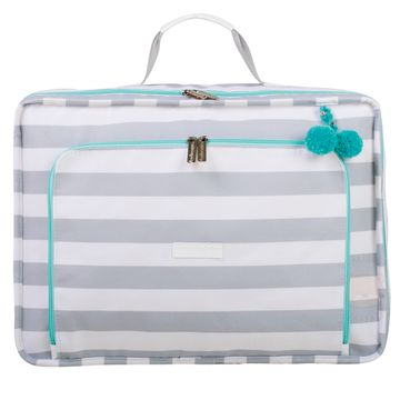 MB12CAN402.09-A-Mala-Maternidade-Vintage-Candy-Colors-Menta---Masterbag