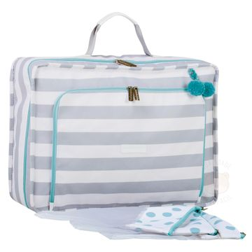 MB12CAN402.09-B-Mala-Maternidade-Vintage-Candy-Colors-Menta---Masterbag