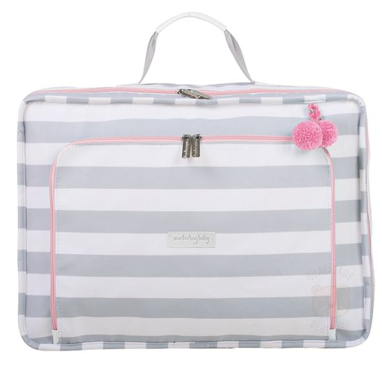 MB12CAN402.08-A-Mala-Maternidade-Vintage-Candy-Colors-Menta---Masterbag