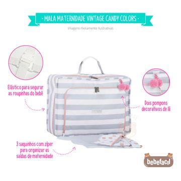 MB12CAN402.08-C-Mala-Maternidade-Vintage-Candy-Colors-Menta---Masterbag