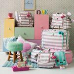 MB12CAN402.08-F-Mala-Maternidade-Vintage-Candy-Colors-Menta---Masterbag