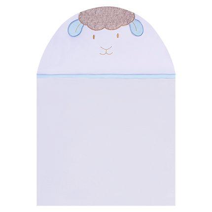 TMAS4345_A-enxoval-e-maternidade-bebe-menino-toalha-max-capuz-atoalhado-ovelhinha-azul-petit-no-bebefacil-loja-de-roupas-enxoval-e-acessorios-para-bebes