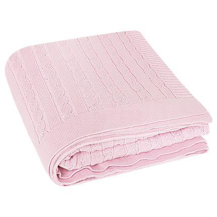 MTQB4279_B-enxoval-e-maternidade-bebe-menina-manta-para-berco-tricot-trancado-rosa-petit-no-bebefacil-loja-de-roupas-enxoval-e-acessorios-para-bebes