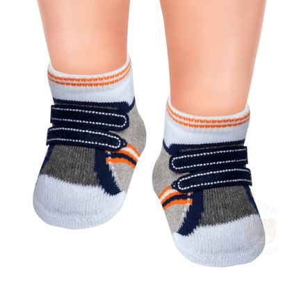 PK6936-TV_A--010101560108-moda-bebe-menino-meia-soquete-tenis-cinza-marinho-puket-no-bebefacil-loja-de-roupas-enxoval-e-acessorios-para-bebes