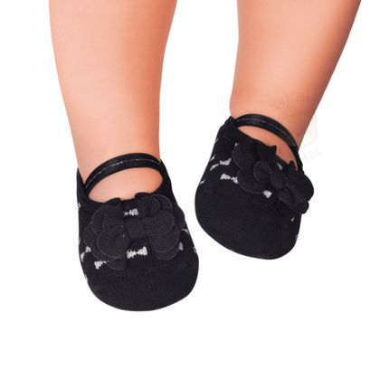 PK6939-LP--010101559199-A-moda-bebe-menina-meia-sapatilha-lacinhos-preta-puket-no-bebefacil-loja-de-roupas-enxoval-e-acessorios-para-bebes