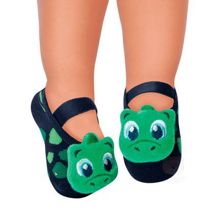 PK7057-DN_A--010202703390-moda-bebe-menina-meia-sapatilha-aplique-dino-puket-no-bebefacil-loja-de-roupas-enxoval-e-acessorios-para-bebes