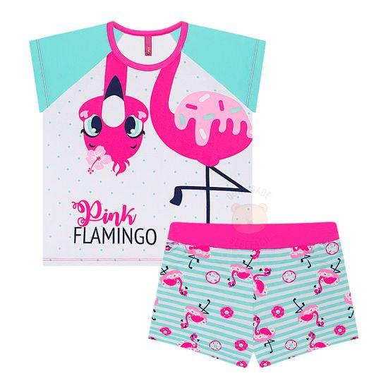 PK030401822_A-moda-menina-pijama-curto-short-doll-pink-flamingo-puket-no-bebefacil-loja-de-roupas-enxoval-e-acessorios-para-bebes