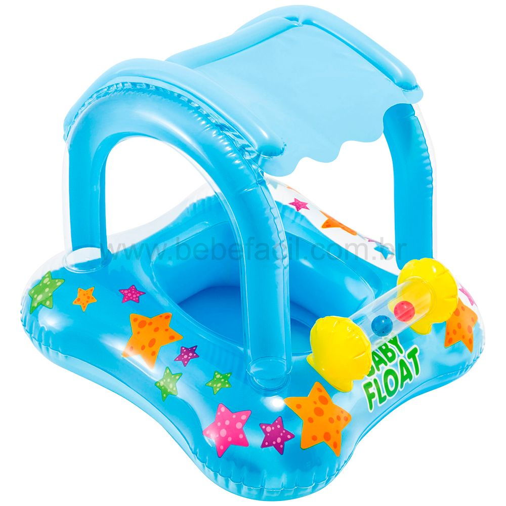 7267-9-A-Bote-Inflavel-Kiddie-com-Cobertura-3a---Fisher-Price