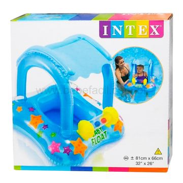 7267-9-D-Bote-Inflavel-Kiddie-com-Cobertura-3a---Fisher-Price
