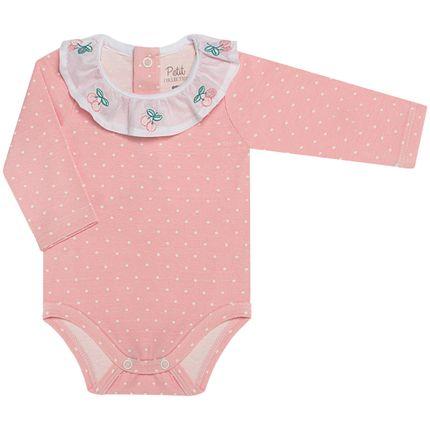 LBY02154845_A-moda-bebe-menina-body-golinha-cotton-cerejinhas-poa-petit-by-la-baby-no-bebefacil-loja-de-roupas-enxoval-e-acessorios-para-bebes