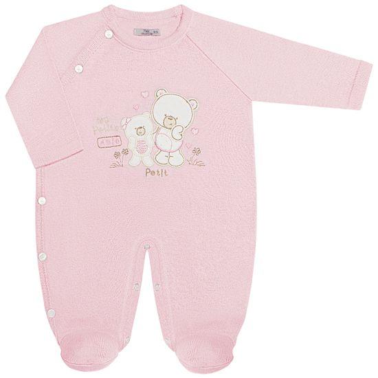 LBY25554861-RN_A-moda-bebe-menina-macaco-longo-tricot-ursinha-poa-petit-by-la-baby-no-bebefacil-loja-de-roupas-enxoval-e-acessorios-para-bebes