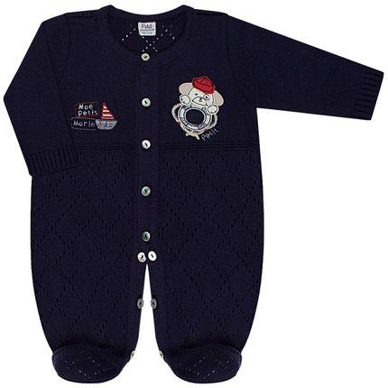 LBY25564865-RN_A-moda-bebe-menino-macaco-longo-tricot-marinho-petit-by-la-baby-no-bebefacil-loja-de-roupas-enxoval-e-acessorios-para-bebes
