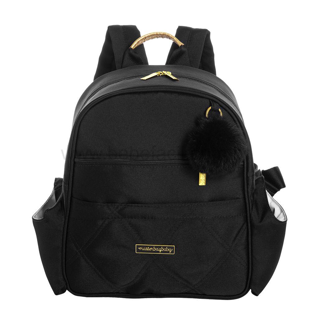 MB11SHO312.23-A-Mochila-Maternidade-Lu-Soho-Black---Masterbag