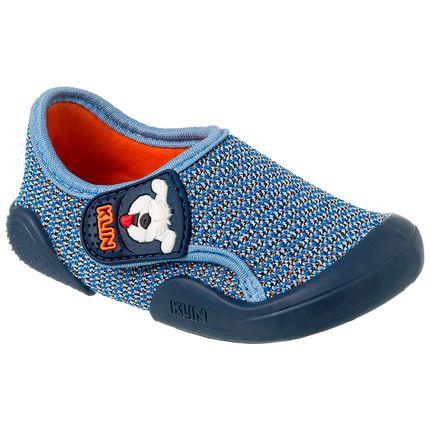 KN179.029000-277-A-Tenis-c-velcro-para-bebe-New-Comfort-Azul---Klin