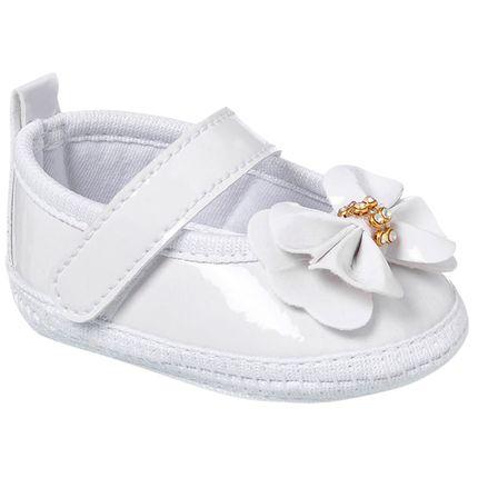 KB1142-8-A-Sapatilha-para-bebe-em-verniz-Laco-Branco---Keto-Baby