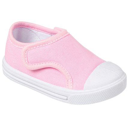 KB24014-7-A-Tenis-para-bebe-c-fecho-Duas-Pontas-Rosa---Keto-Baby