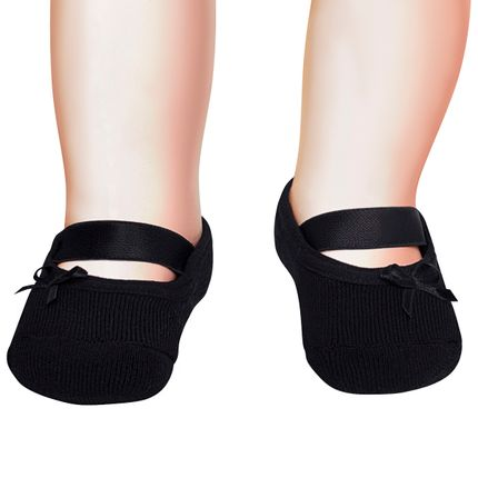 PK7039-PT-A-moda-bebe-menina-meia-sapatilha-laco-preto-puket-no-bebefacil-loja-de-roupas-enxoval-e-acessorios-para-bebes