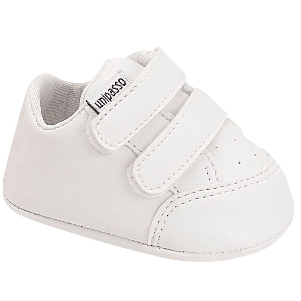 UNI760-020-A-Tenis-fecho-facil-duplo-para-bebe-Branco---Unipasso
