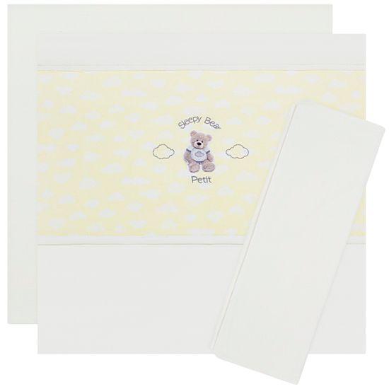 JLS4509_A-enxoval-e-maternidade-bebe-menina-jogo-lencol-de-berco-americano-em-suedine-ursinho-petit-no-bebefacil-loja-de-roupas-enxoval-e-acessorios-para-bebes