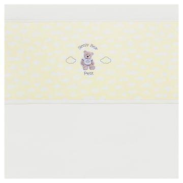 JLS4509_B-enxoval-e-maternidade-bebe-menina-jogo-lencol-de-berco-americano-em-suedine-ursinho-petit-no-bebefacil-loja-de-roupas-enxoval-e-acessorios-para-bebes