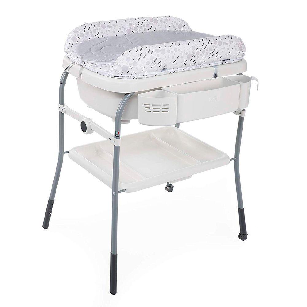 CH9008-E-A-Banheira-para-bebe-com-trocador-Cuddle-e-Bubble-Comfort-Cool-Grey---Chicco