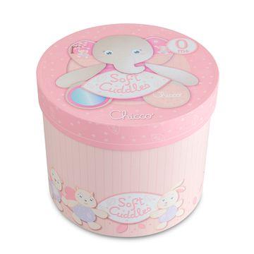 CH5171-C-Pelucia-Mamae-Elefante-com-fantoche-Soft-Cuddles---0--Rosa---Chicco