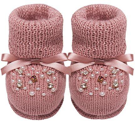 01419024032_A-sapatinhos-bebe-menina-botinha-em-tricot-strass-e-mini-perolas-rose-roana-no-bebefacil-loja-de-roupas-enxoval-e-acessorios-para-bebes