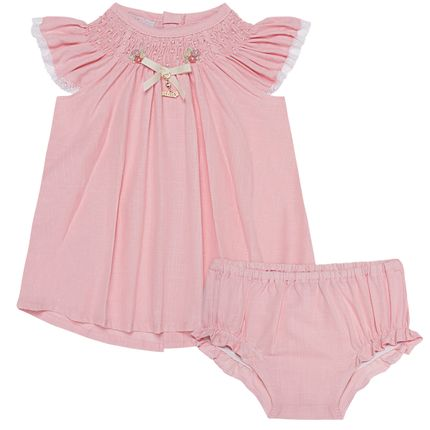 5099079046-A-moda-bebe-menina-vestido-calcinha-casinha-de-abelha-rosa-roana-no-bebefacil-loja-de-roupas-enxoval-e-acessorios-para-bebes