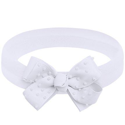 00549006001_A-moda-bebe-menina-acessorios--faixa-de-cabelo-laco-perolas-branca-roana-no-bebefacil-loja-de-roupas-enxoval-e-acessorios-para-bebes