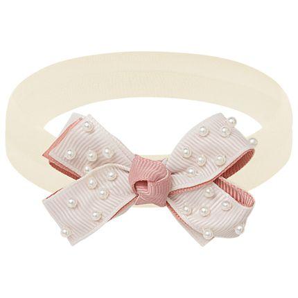 00549004542_A-moda-bebe-menina-acessorios--faixa-de-cabelo-laco-perolas-marfim-rose-roana-no-bebefacil-loja-de-roupas-enxoval-e-acessorios-para-bebes
