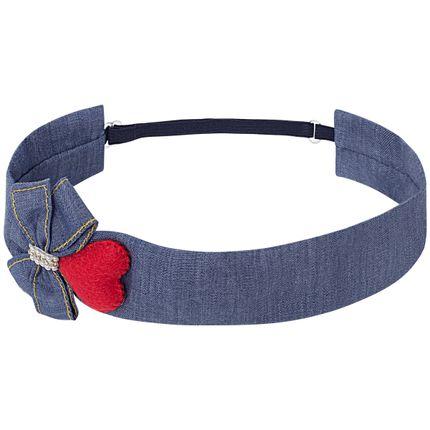 00619005493_A-moda-menina-acessorios-faixa-de-cabelo-headband-laco-e-coracao-denim-roana-no-bebefacil-loja-de-roupas-enxoval-e-acessorios-para-bebes