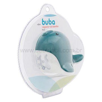 BUBA11853-G-Regador-de-Banho-para-bebe-Foca-Azul-6m---Buba
