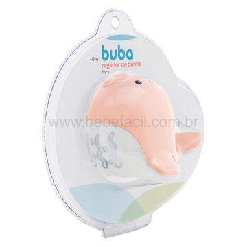 BUBA11852-G-Regador-de-Banho-para-bebe-Foca-Rosa-6m---Buba
