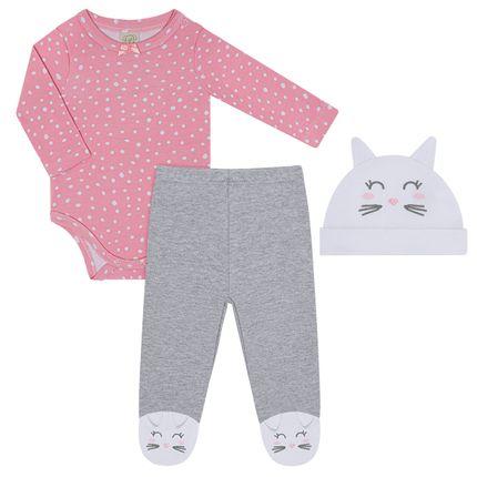 PL66406_A-moda-bebe-menina-conjunto-body-longo-calca-touca-coelhinha-pingo-lele-no-bebefacil-loja-de-roupas-enxoval-e-acessorios-para-bebes