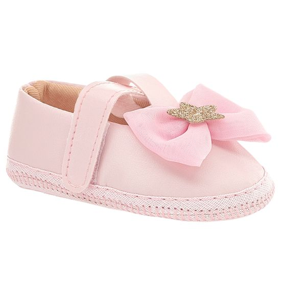 BBG-39014LP-A-Sapatilha-para-bebe-Laco-Rosa-Star---Baby-Gut