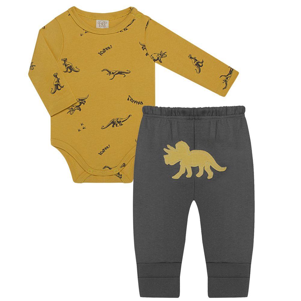 PL66483-RN_A-moda-bebe-menino-conjunto-body-longo-com-calca-mijao-em-suedine-dinossauros-pingo-lele-no-bebefacil-loja-de-roupas-enxoval-e-acessorios-para-bebes