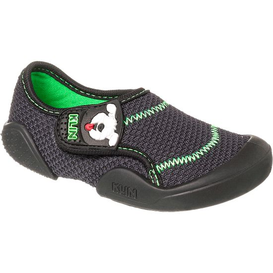 KN179.007000-2-A-Tenis-c-velcro-para-bebe-New-Comfort-Preto---Klin