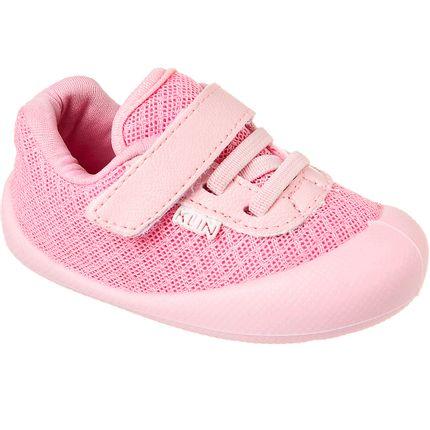 KN180.003000-44-A-Tenis-c-velcro-para-bebe-Confort-Plus-Rosa-Claro---Klin