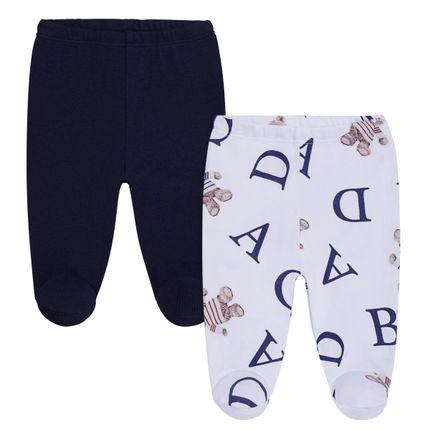 CQ20.064-137_A-moda-bebe-menino-kit-2-calcas-em-suedine--urso-letras-coquelicot-no-bebefacil-loja-de-roupas-enxoval-e-acessorios-para-bebes