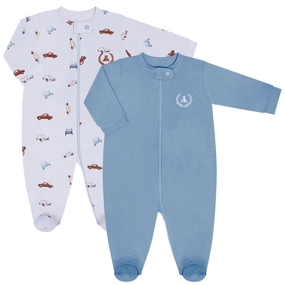 CQ20.097-138_A-moda-bebe-menino-kit-2-macacaoes-longo-em-suedine-malha-carrinhos-coquelicot-no-bebefacil-loja-de-roupas-enxoval-e-acessorios-para-bebes