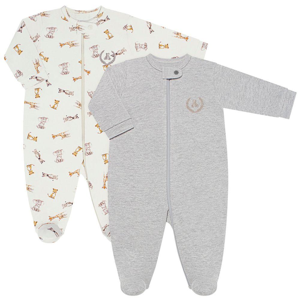 CQ20.097-140_A-moda-bebe-menino-kit-2-macacaoes-longo-em-suedine-malha-safari-coquelicot-no-bebefacil-loja-de-roupas-enxoval-e-acessorios-para-bebes
